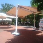 bozcaada tente, bozcaada belediye tentesi, çift açılım tente imalatı, çanakkale tente imalatı,