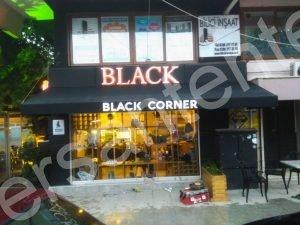 kahveci tentesi, coffee shop, coffee shop awning, çanakkale tente, tente, siyah tente,