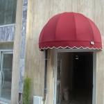 kapı üzeri tentesi