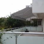 kutulu balkon tente