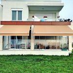 villa mafsallı tente, villa gölgelendirme, villa bahçe tentesi,